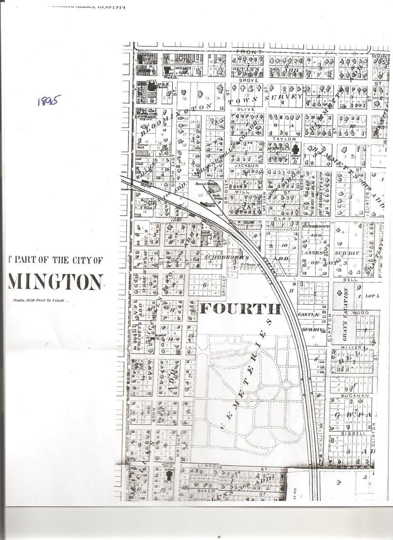 1895 Plat Map