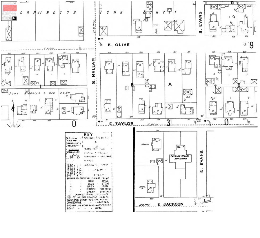 1896 Sanburn Map